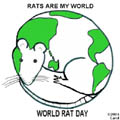 World Rat Day by Carol