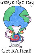 World Rat Day by JoAnna