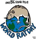 World Rat day by Trudy